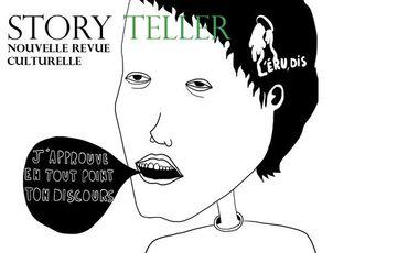 Visueel van project STORY TELLER : Nouvelle revue culturelle