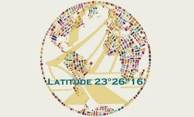 "Project visual Latitude 23°26""16'"