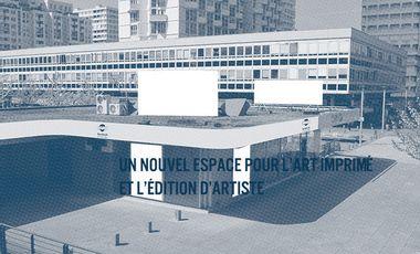 Visueel van project Un nouvel espace pour l'art imprimé et l'édition d'artiste.