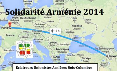Visueel van project solidarité en Arménie