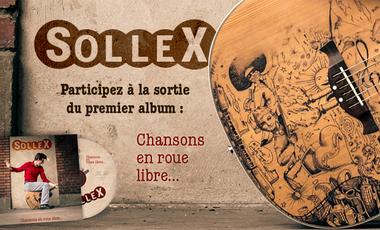 Project visual SOLLEX-Album « Chansons en roue libre… »