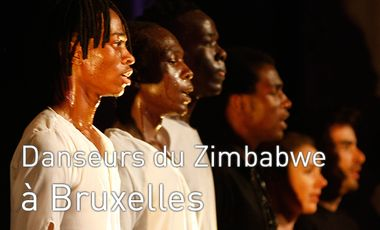 Project visual Dancers from Zimbabwe to Brussels