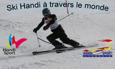 Visueel van project Ski Handi à travers le monde