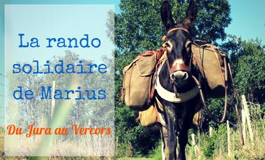 Visueel van project La randonnée solidaire de l'âne Marius