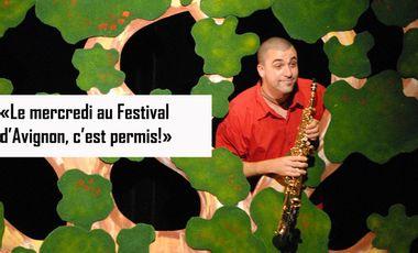 Visuel du projet « Le mercredi au festival d'Avignon, c'est permis ! »