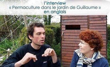 """Visuel du projet """"Permaculture dans le jardin de Guillaume"""" en anglais"""
