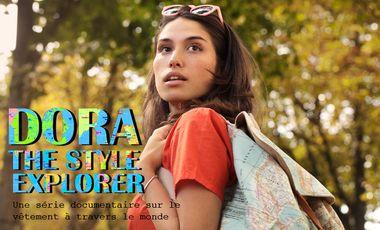 Visueel van project DORA, THE STYLE EXPLORER - une série documentaire sur la mode à travers le monde