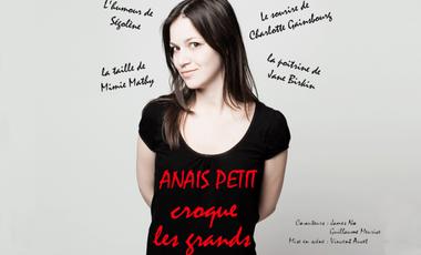 Project visual Anaïs Petit croque les Grands au Festival d'Avignon 2012