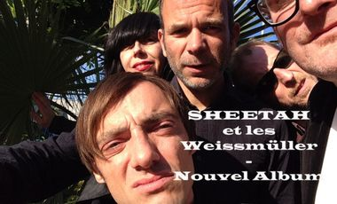 Visueel van project SHEETAH et les Weissmüller - Nouvel Album