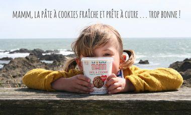 Visuel du projet MAMM, la pâte à cookies fraîche & prête à cuire, faite avec amour !
