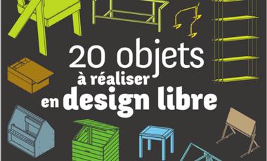 """Visueel van project Catalogue """"20 objets à réaliser en design libre"""""""