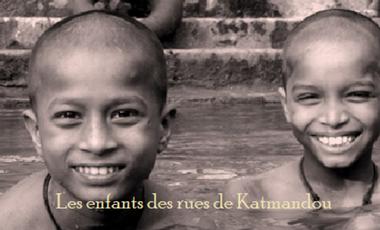 Visuel du projet Les enfants des rues de Katmandou