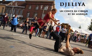 Visueel van project DJELIYA -- un conte en cirque et en musique