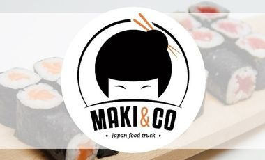 Project visual Maki&Co Japan Food Truck Grenoble