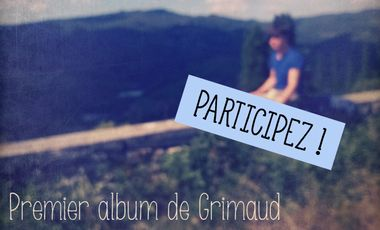 Project visual Premier album de Monsieur Grimaud
