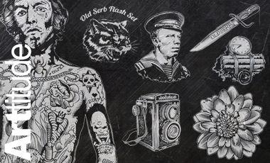 Visuel du projet Sadhu Le Serbe - OldSerb Archives (BOOTleg ARTtitude)
