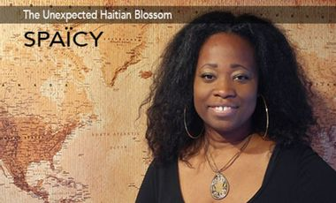 Project visual The unexpected Haitian Blossom