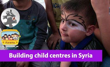 Visuel du projet Des centres pour enfants en Syrie