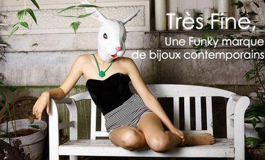 Visueel van project Très Fine, une marque française de bijoux contemporains