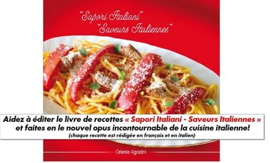Project visual « Sapori Italiani - Saveurs Italiennes »