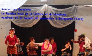 Visueel van project Rencontres Emotions 2014 - Le Rendez Vous de la Culture et du Handicap
