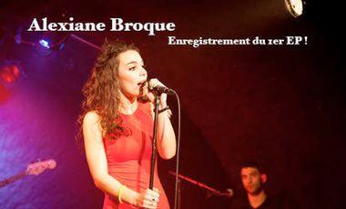 Visuel du projet Alexiane Broque : Enregistrement du 1er EP !