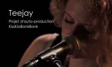 Visueel van project Teejay - Premier album !