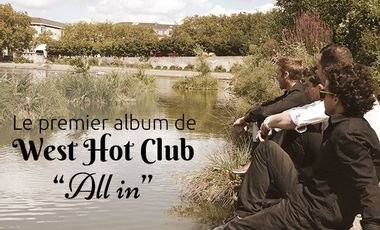 Visueel van project West Hot Club : 1er album!