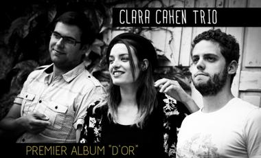 Visuel du projet Clara Cahen Trio