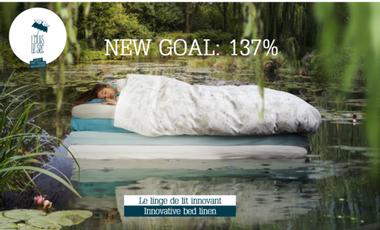 Visueel van project Louis Le Sec, le linge de lit innovant
