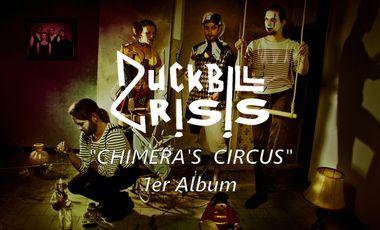 Visueel van project Aidez-nous à financer le premier album de DUCKBILL CRISIS!!!