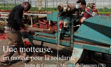 Visueel van project Une motteuse, un moteur pour la solidarité !