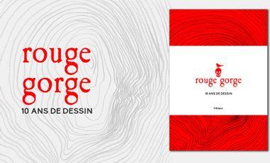 Project visual Rouge Gorge, 10 ans de dessin