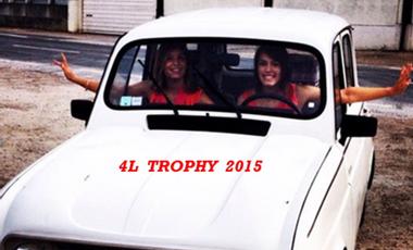 """Visuel du projet Projet 4L TROPHY 2015 - """"La 4L des 2L"""""""