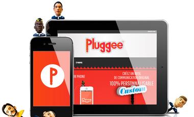 Visueel van project Pluggee