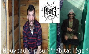 Visueel van project PANG! un nouveau clip sur l'habitat léger!
