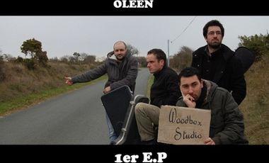 Visuel du projet Premier E.P. du groupe Oleen.