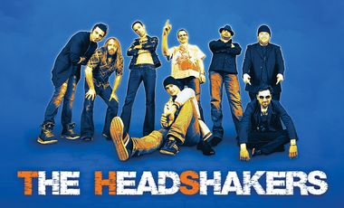 """Visueel van project The HeadShakers - clip """"Man on Wire"""""""