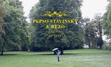 Visuel du projet Pepso Stavinsky & RezO : 1er EP Vinyle