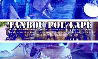 Visueel van project tanbou pou lapè