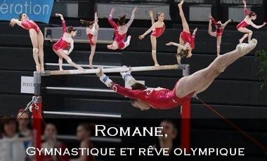 Visuel du projet Romane, Gymnastique et rêve olympique