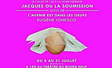 Project visual Jacques ou la soumission