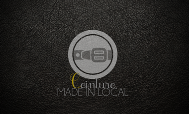 Visueel van project Ceinture en cuir made in France de qualité.