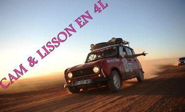 Visuel du projet Cam & Lisson en 4L