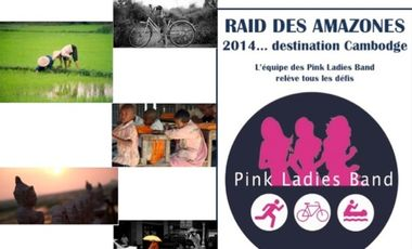 Visueel van project Raid amazones 2014 / Equipe Pink Ladies Band
