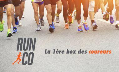 Visueel van project RUN&CO :  La 1ère Box des Coureurs