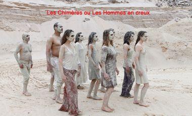 Visueel van project Les Chimères ou les Hommes en creux/ Danse