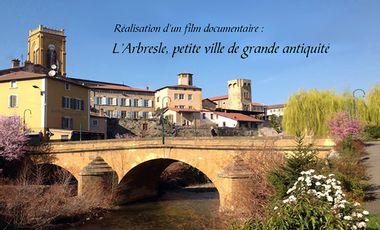 Visueel van project L'arbresle petite ville de grande antiquité