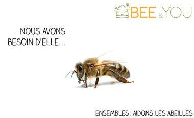 Visueel van project Bee&You - Les abeilles, nous avons besoin d'elles...