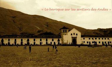 """Visuel du projet Enregistrement Cronexos, """"Le baroque sur les sentiers des Andes"""""""